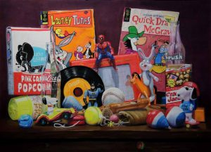 toys and comic
